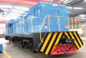 Diesel Hydraulic Locomotive