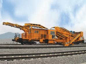 Railway Track Maintenance Machine